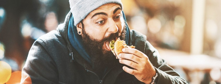 Hipster do eat as well.